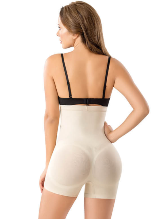 Paris push up tummy shaper beige 2
