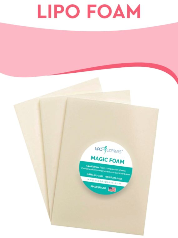 LIPO FOAM FOR SURGERY RECOVERY